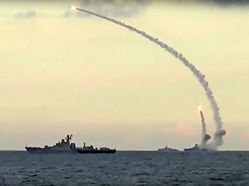 Russian cruise missile attack in Syria may signal US departure