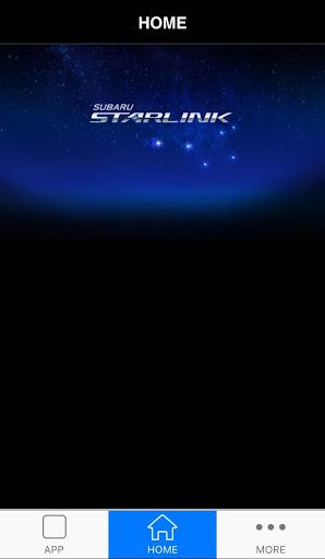 SUBARU STARLINK Screenshot