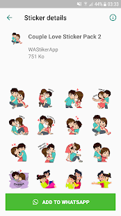 Love Sticker Packs For WhatsApp – WAStickerApps 2