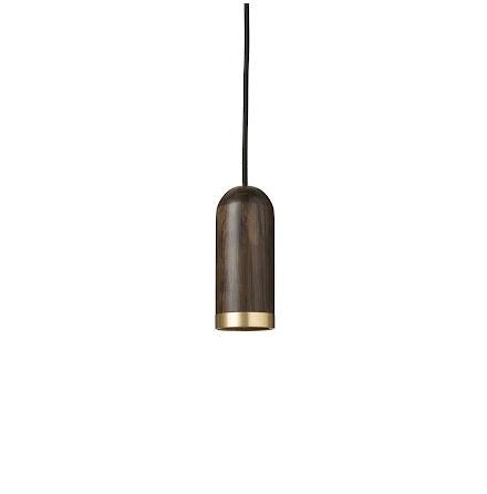 Cylinder Pendant - Taklampa Färgad Ek ø6cm