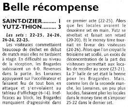 Photo: 16-01-2011 L'ASVB s'impose 1-3 à Saint-Dizier, non sans difficulté