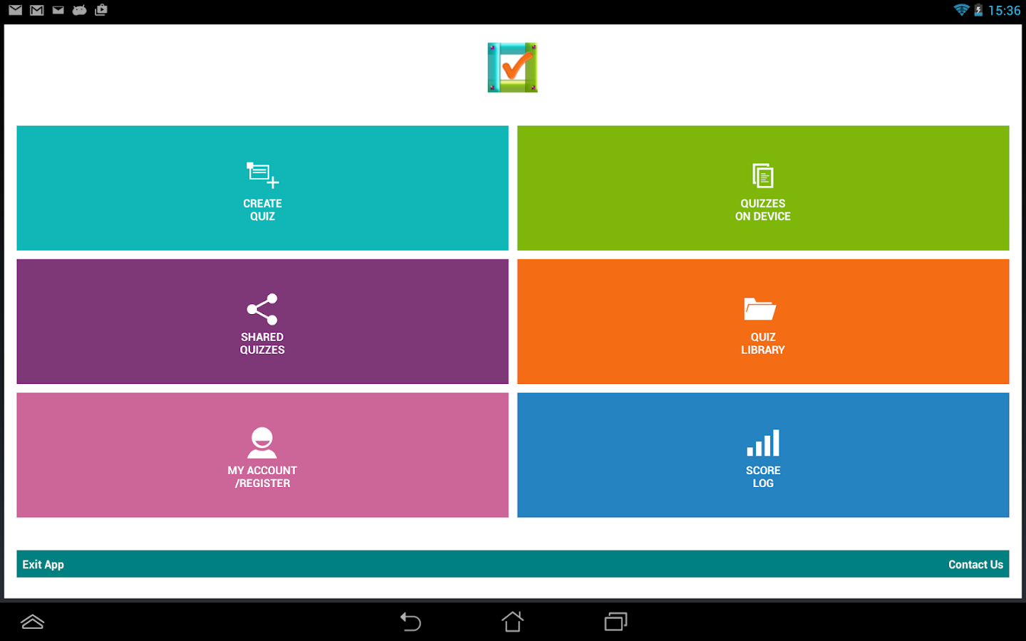 Quiz Library Create Share Android Apps On Google Play