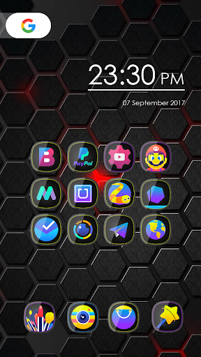 لالروبوت Glos - Icon Pack تطبيقات screenshot