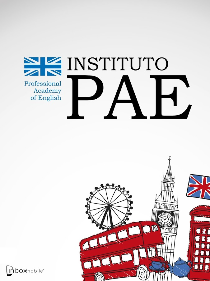 Instituto PAE: captura de pantalla