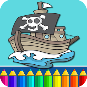 Pirates Coloring Pages for PC and MAC