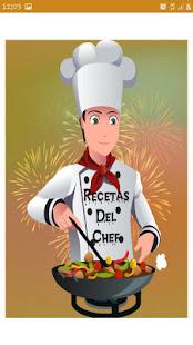 Recetas del chef for PC-Windows 7,8,10 and Mac apk screenshot 1