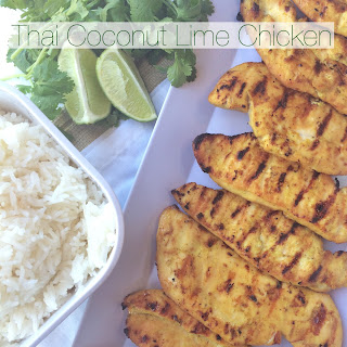 Thai Coconut Grilled Chicken.