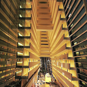 The Bay Sands by Richard Ho - Buildings & Architecture Other Interior ( , vertical lines, pwc )
