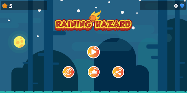 Download Raining Hazard For PC Windows and Mac apk screenshot 2