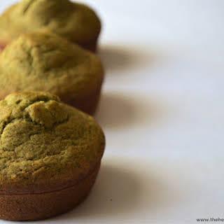 {Gluten Free} Sweet Spinach Muffins.
