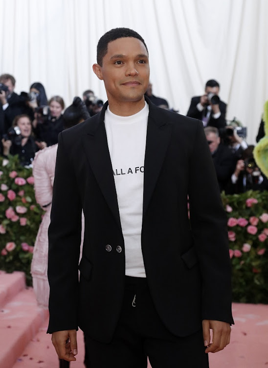 Image result for trevor noah met gala 2019