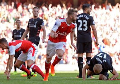 Grave blessure pour un joueur d'Arsenal