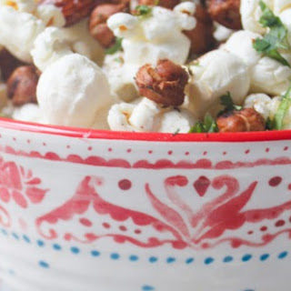Chili Chickpea, Honey Almond & Popcorn Mix