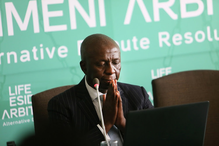 Retired Deputy Chief Justice Dikgang Moseneke grilled senior health official Dr. Makgoba Manamela.
