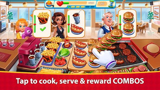 Cooking Marina – fast restaurant cooking games 4
