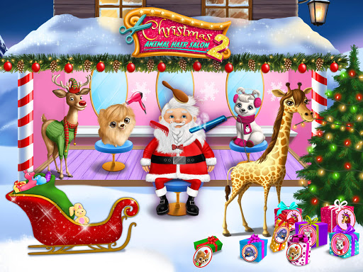 Christmas Animal Hair Salon 2 3.0.30001 screenshots 10