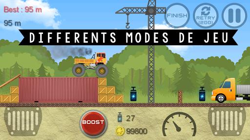 Télécharger Gratuit Monster Truck Hero  APK MOD (Astuce) screenshots 6