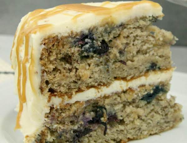Blueberry Zucchini Spice Cake Recipe
