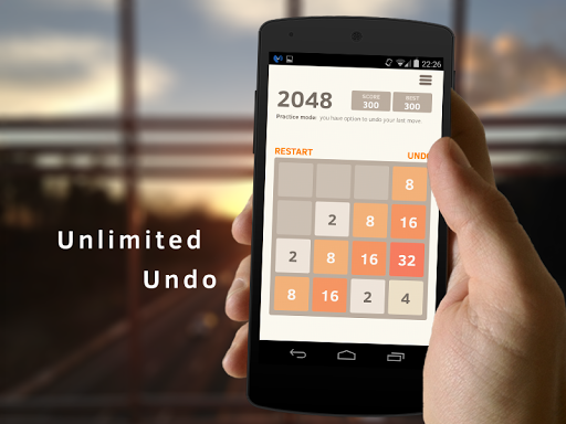 2048 Number puzzle game screenshot 1