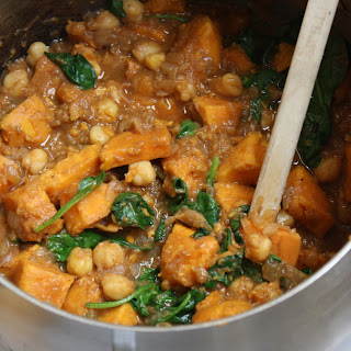 Winter Miso Sweet Potato Chickpea Stew