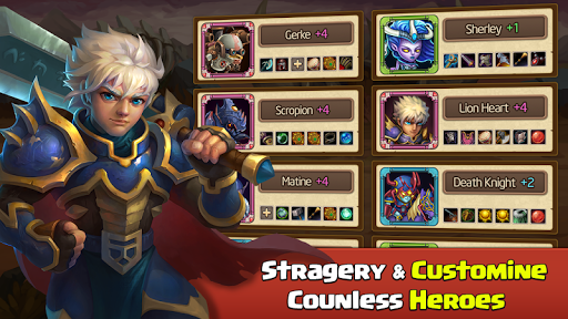 Heroes Legend - Epic Fantasy RPG 2.1.6 screenshots 22