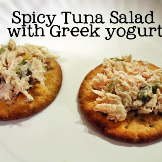 Spicy Tuna Salad with Greek Yogurt