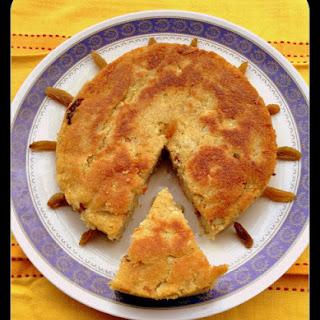 Ripe Jackfruit Cake / Pansache Dhonas.
