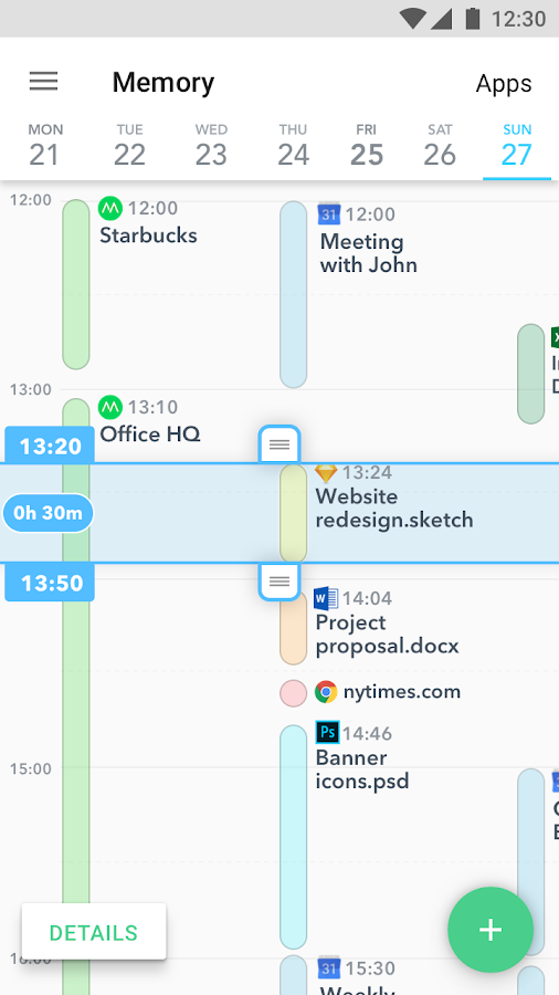 Timely Time Tracking- screenshot