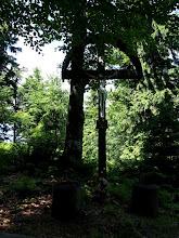 Photo: Charakterystyczny krzyż na szczycie.