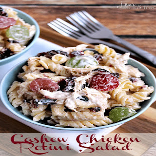 Cashew Chicken Rotini Salad.