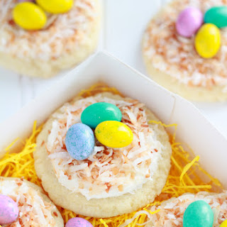 Sugar Cookie Bird's Nests