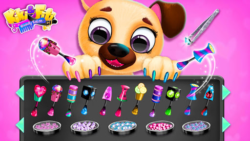 Kiki & Fifi Pet Beauty Salon - Haircut & Makeup apkpoly screenshots 6