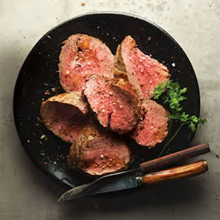Rosemary-Rubbed Beef Tenderloin.