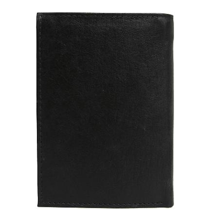 Plånbok i Skinn 9 kortplatser Svart