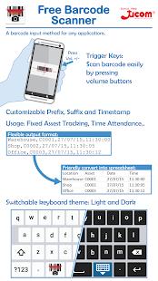 Ucom Free Barcode Scanner - náhled