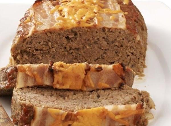 Diabetic Bacon Cheeseburger Meatloaf Recipe
