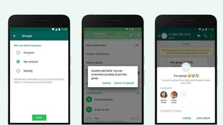 WhatsApp Allows Users to Control Who Can Add Them to Group Chats With The Launch of New Privacy Settings