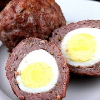 Baked Scotch Eggs.
