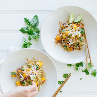 Mango & Coconut Soba Noodle Salad.