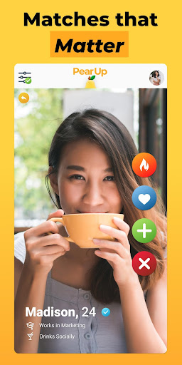 PearUp - Chat & Dating App 3.1.3 screenshots 4