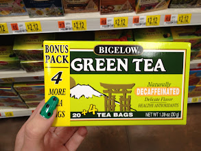 Photo: Bigelow Green Tea is my favorite, decaffeinated of course.