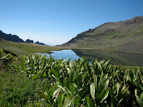 Photo: Wildhorse Lake. Beautiful little hike down to this lake on the west side of the summit.