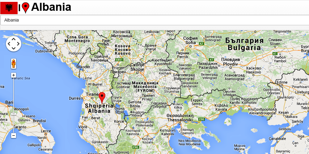 Albania Map Android Apps On Google Play - Albania map