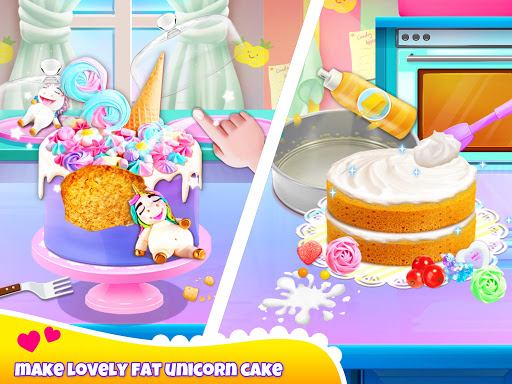 Unicorn Chef: Cooking Games for Girls 4.1 screenshots 3