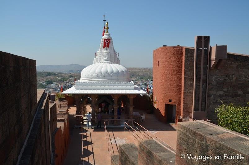 Mehrangarh Jodhpur, temple