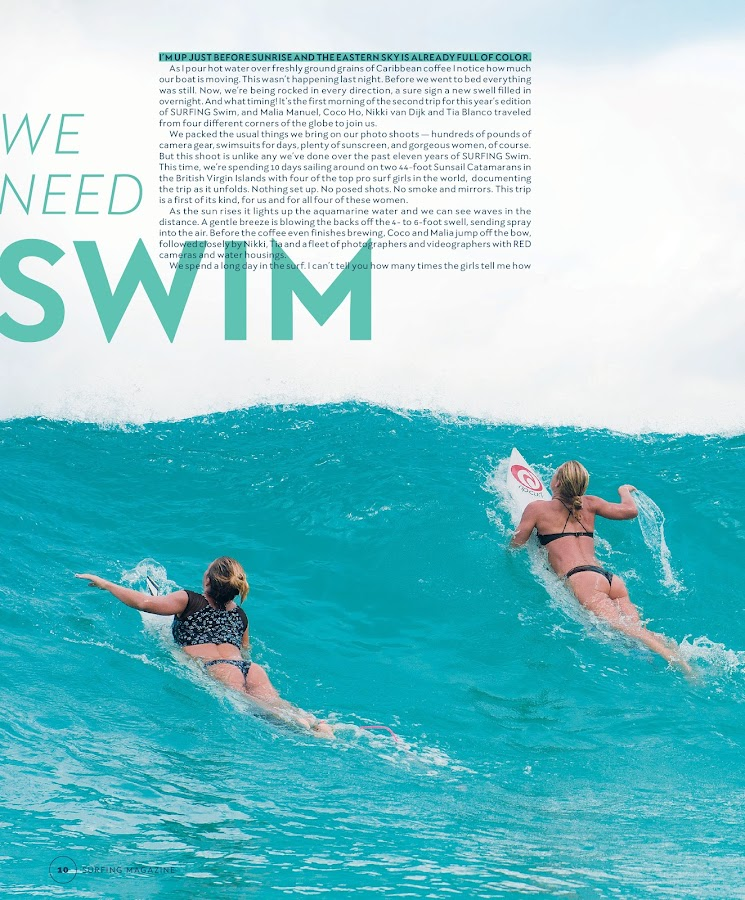 Surfing Swimsuit Issue- screenshot