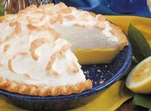 Buttermilk Lemon Pie Recipe