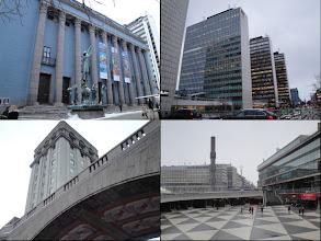 Photo: Concerthuis, cultuurhuis en torens