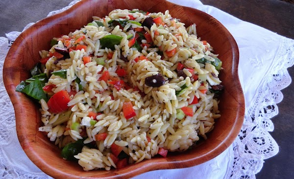 Orzo And Spinach Salad Recipe