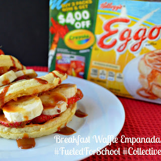 Breakfast Waffle Empanadas #FueledForSchool #CollectiveBias #Ad